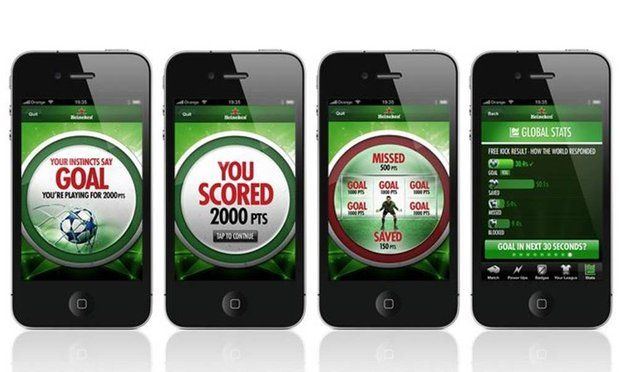 Heineken Global Star Player app to support UEFA Champions