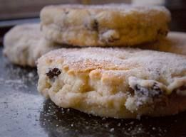 And of course, it goes without saying, some homemade welsh cakes just like Mamgu used to make