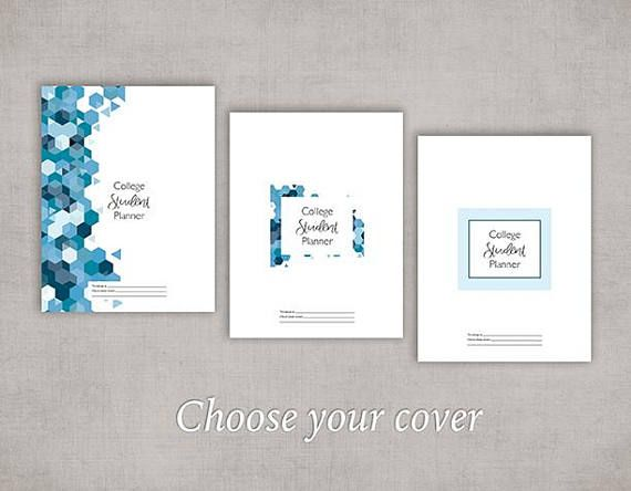 College-University Student Planner Pack - Printable PDF #collegepackinglist