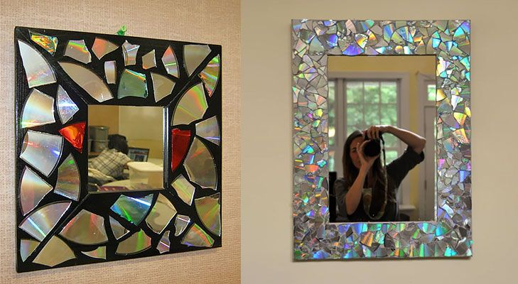 Diy home decor with recycled materials mosaic mirrors and mosaics diy home decor with recycled materials the royale cd mosaicmosaic mirrorsphoto frame solutioingenieria Image collections