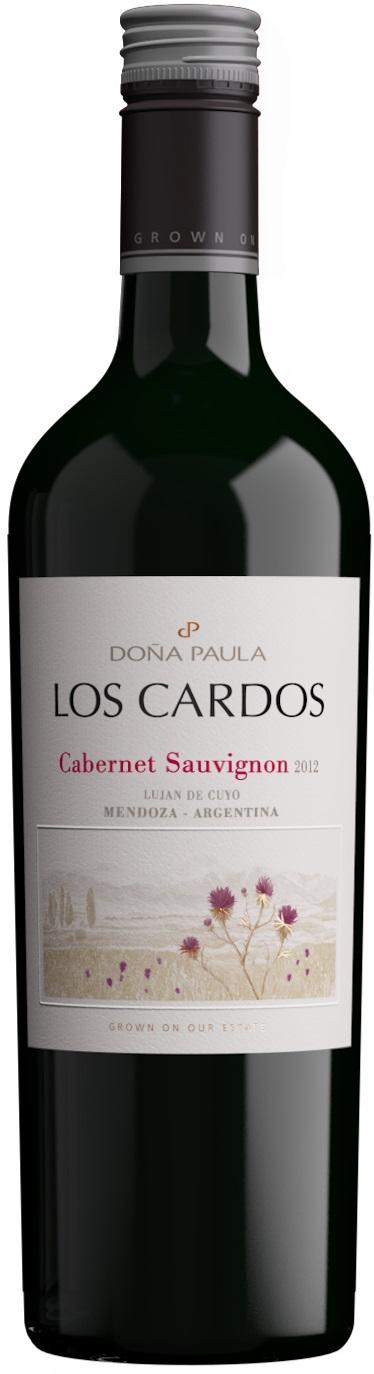 Los Cardos Cabernet Sauvignon 2015 Bodega Dona Paula Lujan De