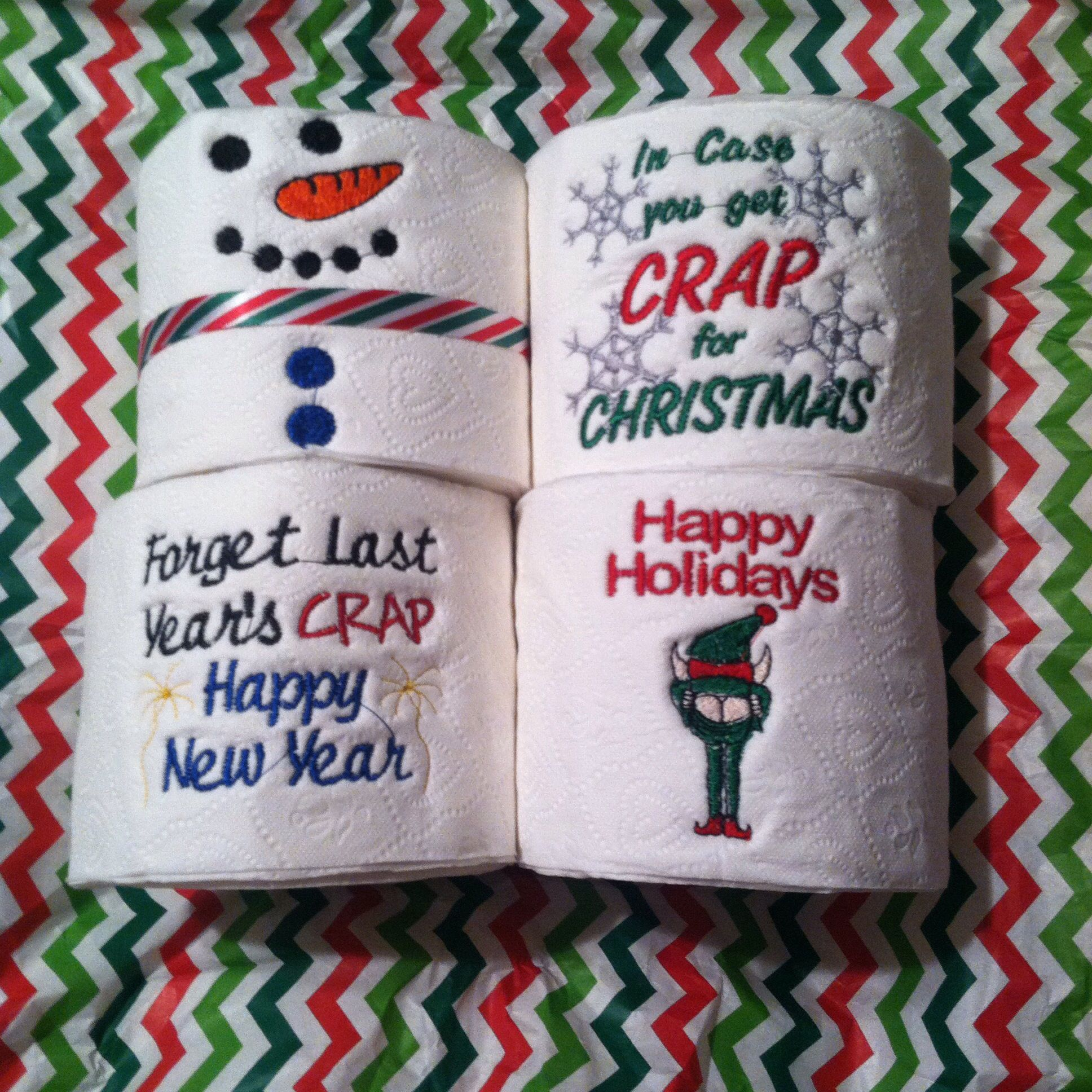 Custom Made Toilet Paper Embroidered Toilet Paper Facebook Tntembroidery Tnt
