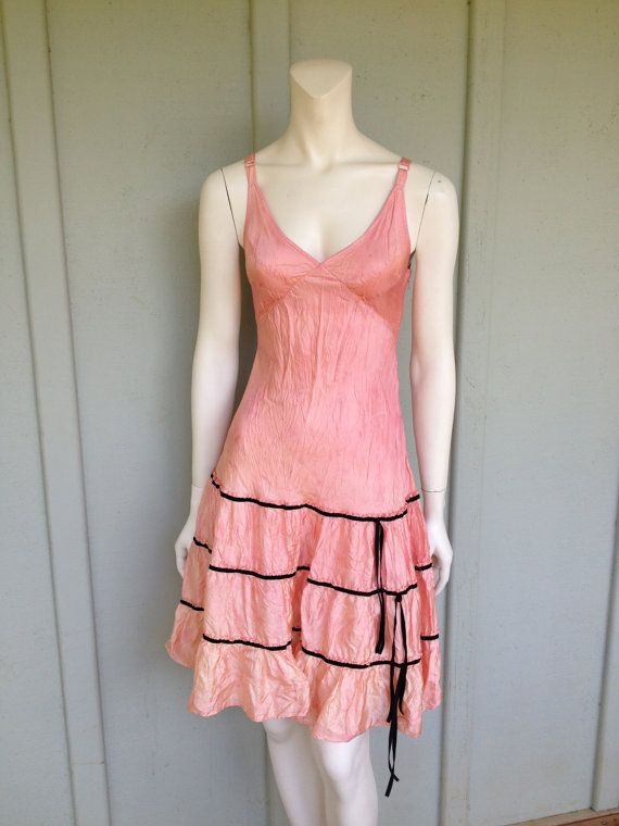 Reserved, Vintage Betsey Johnson Pink Dress | Pinterest