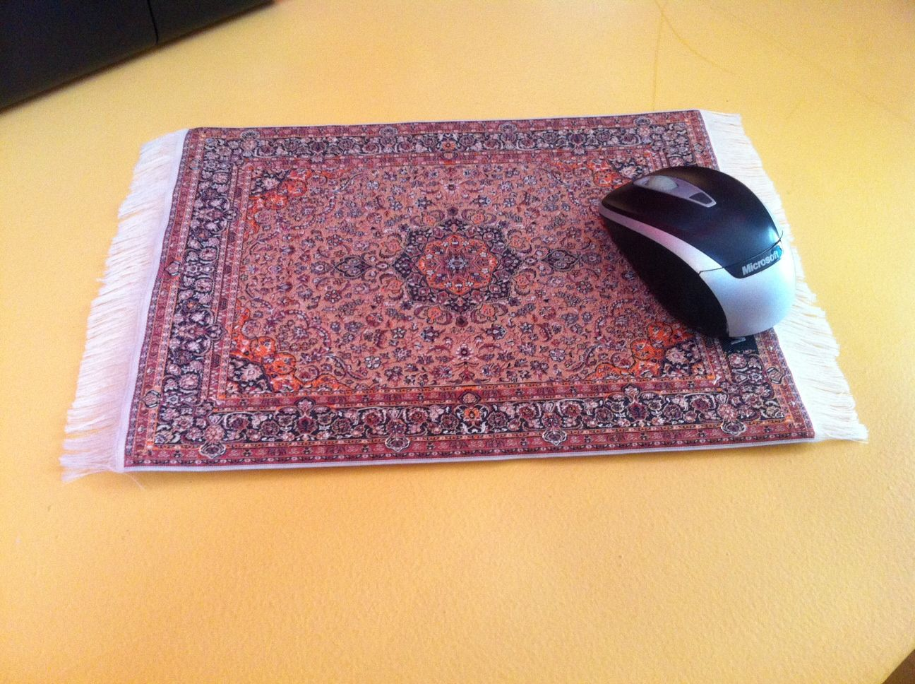Persian Rug Mouse pad 100% Hand made 2 500 years old weaving technique www.galaxierouge.com