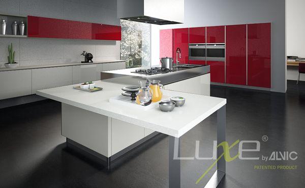 Cocinas alto brillo #Luxe by #Alvic #decoración e #interiorismo