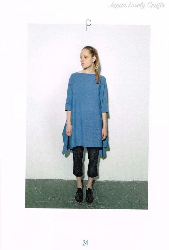 Easy Sewing Dress Patterns, Asuka Hamada, Japanese Sewing Pattern ...