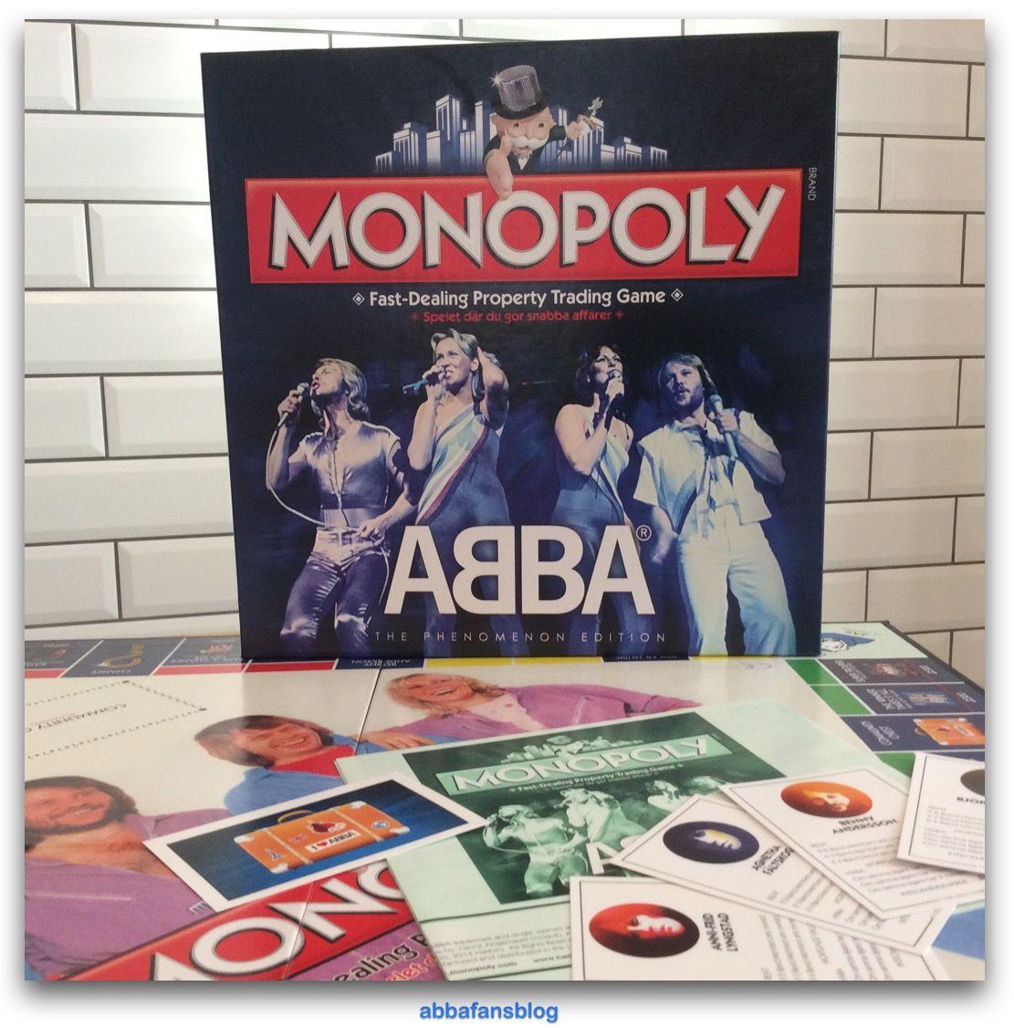 Abba fans blog collection abba monopoly abba agnetha frida http abbafansblog blogspot co uk 2015 12 collection abba monopoly html pinterest