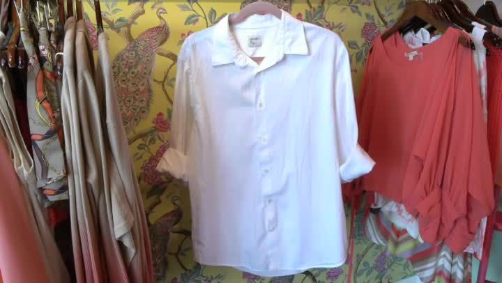 Video: What Women's Clothes Can You Make From a Man's Shirt?