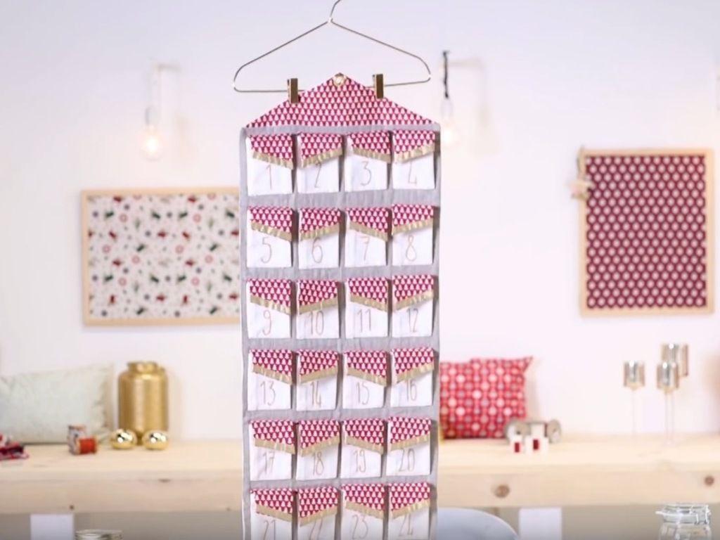DIY : Mon calendrier de l'Avent en tissu