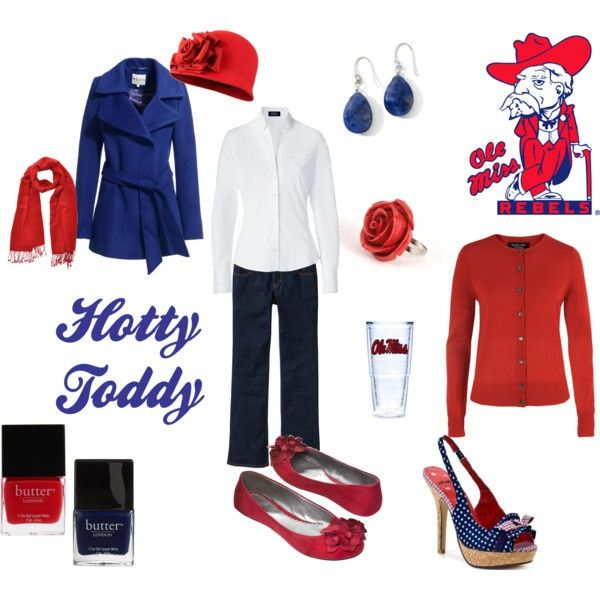 Gameday Outfit, Ole Miss Girls