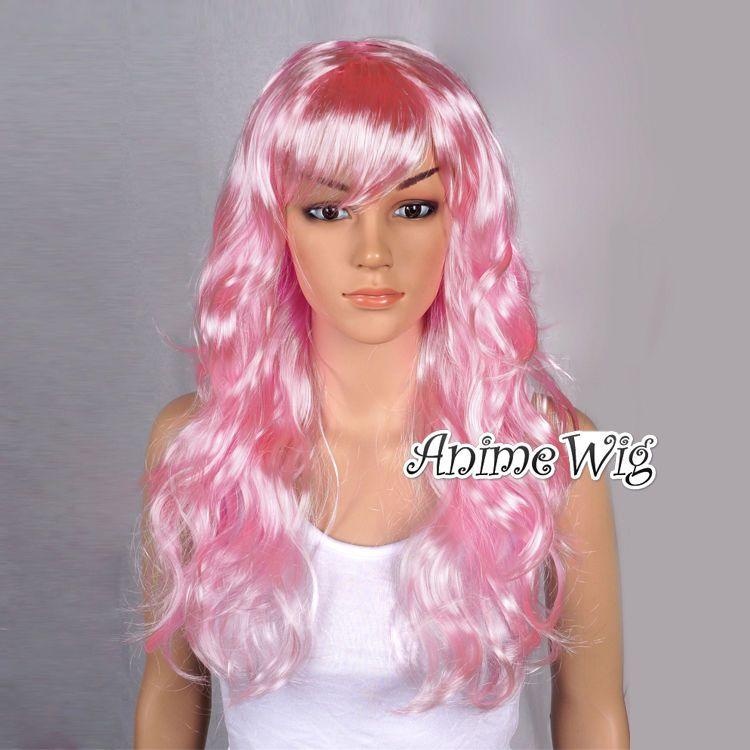 Karneval Party Wig Gelockt Rosa Stylish Curly Haare Perücke Coslay Mode Fashion in Kleidung & Accessoires, Kostüme & Verkleidungen, Accessoires   eBay