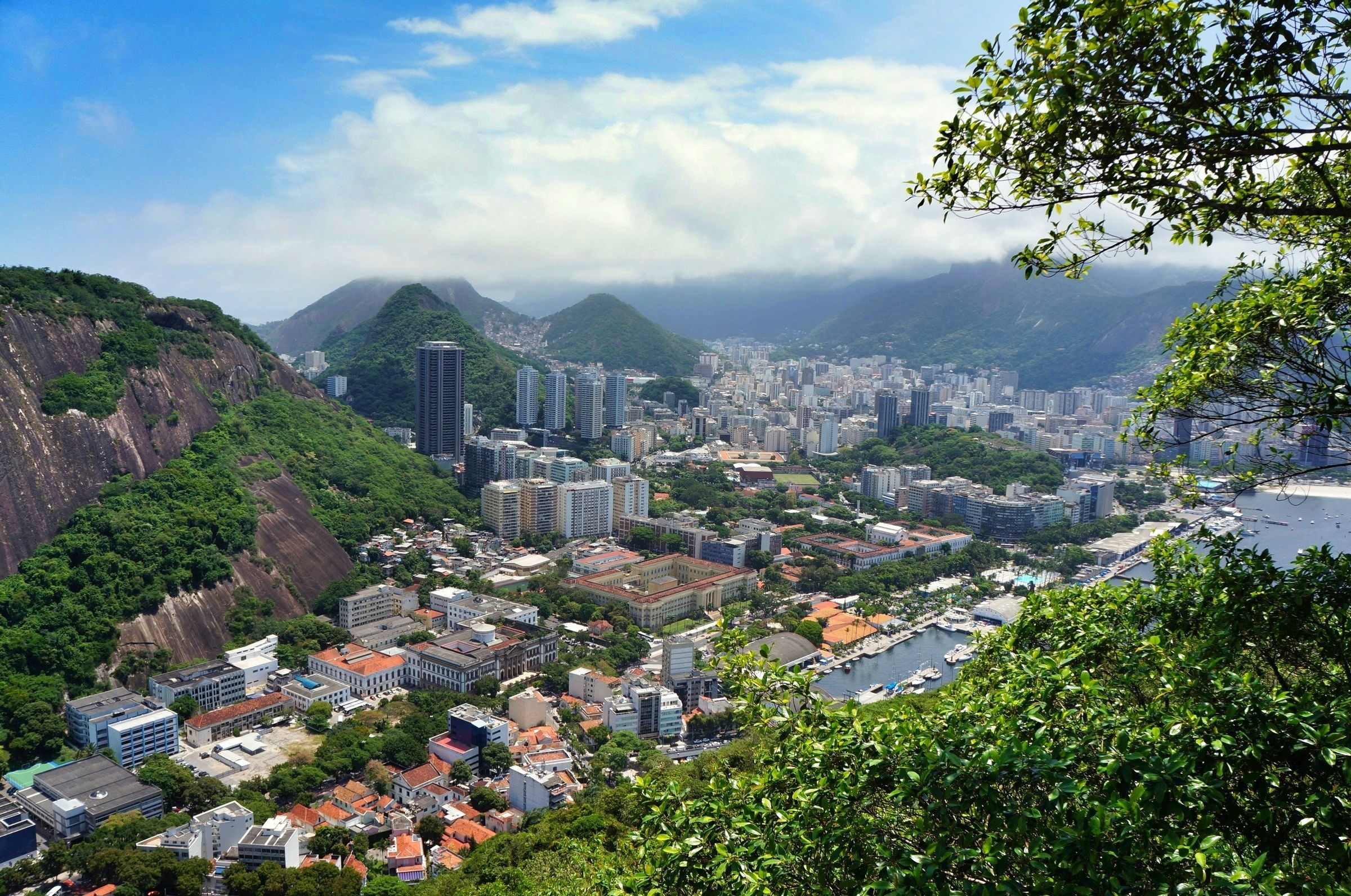 View of Rio city