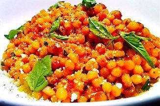 Fregola Sarda with Tomato, Pecorino, and Basil Recipe on Food52