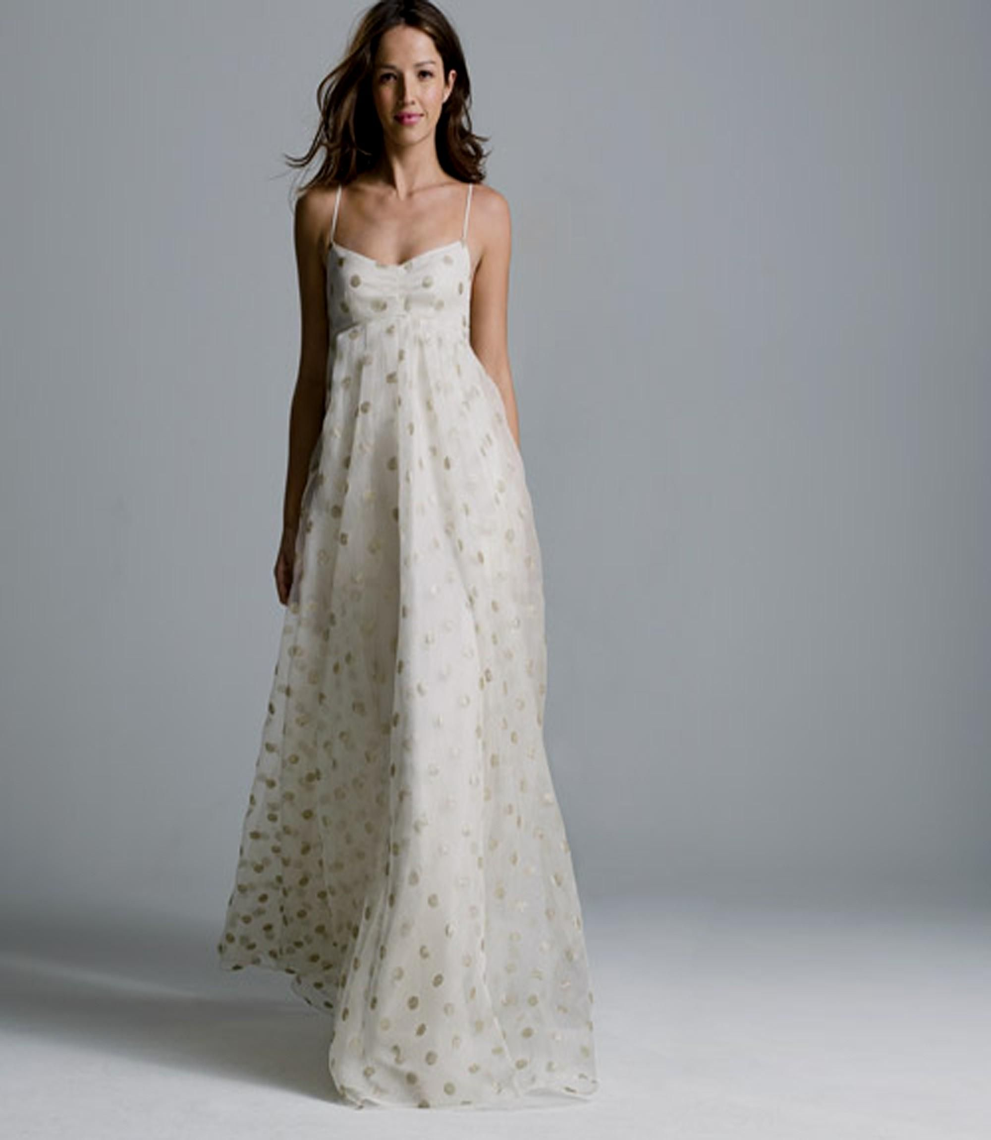 Casual Beach Wedding Dresses For Older Brides