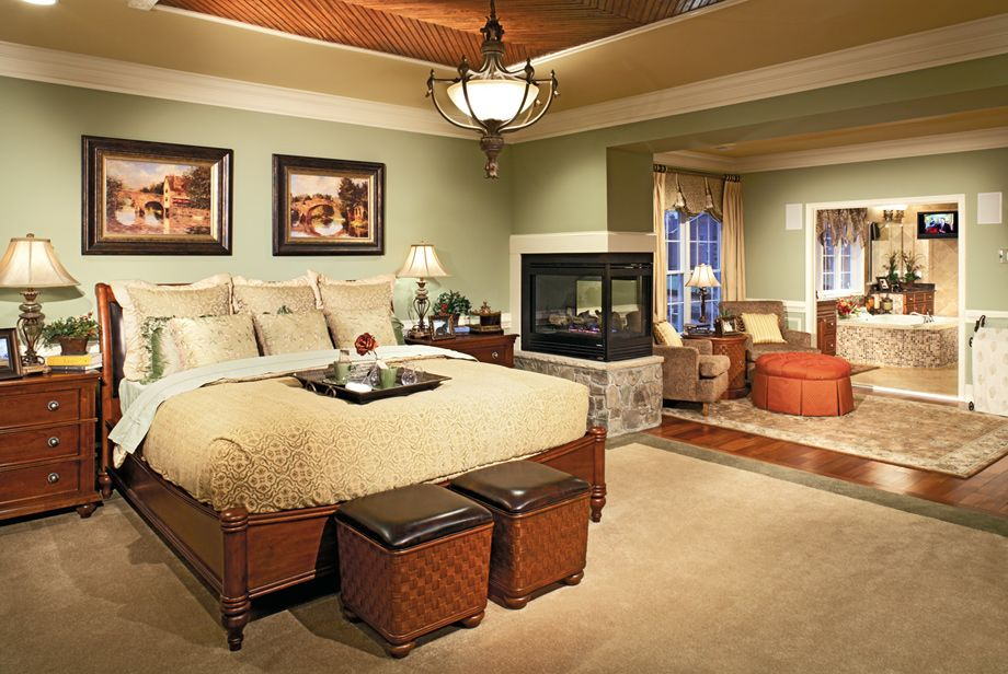 Luxury Master Suites toll brothers - the malvern master bedroom suite | toll brothers