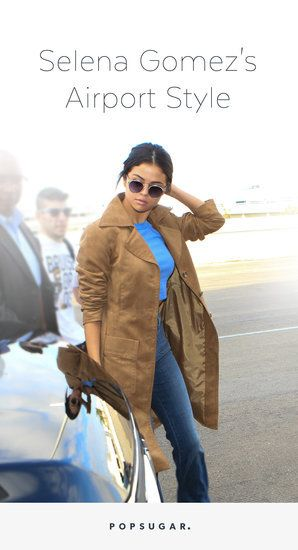 24 Times Selena Gomez's Airport Outfits Were Comfy and Chic
