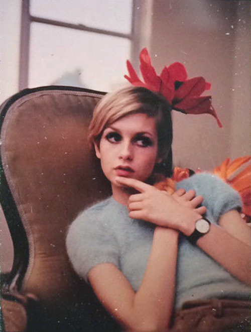 Twiggy, photographed by Bert Stern, 1967
