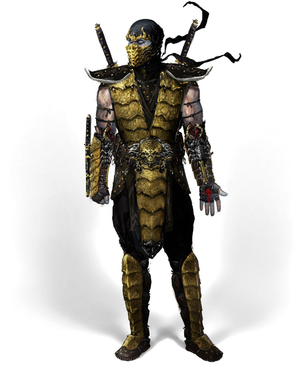 mortal kombat art gallery containing characters concept art and promotional pictures - Mortal Kombat Smoke Halloween Costume