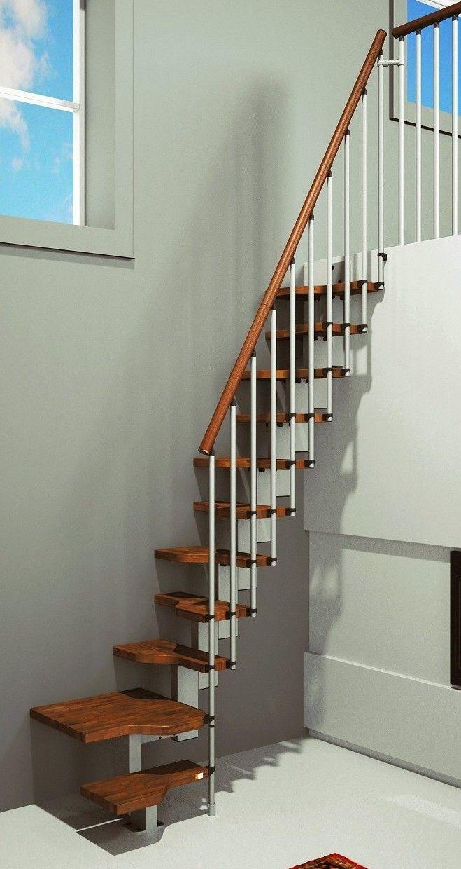 Best Misterstep Gamia Mini Plus Space Saving Stair Kit Dark 400 x 300