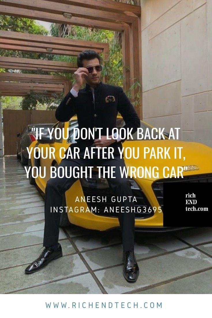 If you don't look back at your car after you park it, you