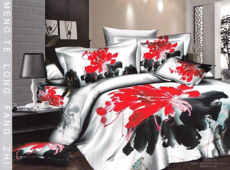 Black White And Red Comforter Bedding Sets Bed Comforter Sets Matching Bedroom Set