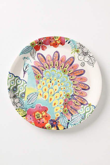 Flights And Fancy Dinner Plate - anthropologie.com  sc 1 st  Pinterest & Flights And Fancy Dinner Plate - anthropologie.com | Lugares que ...