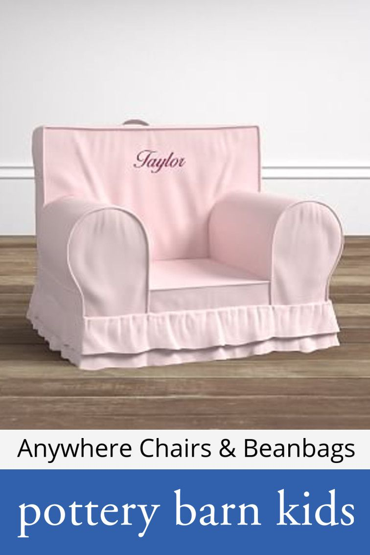 Anywhere chairs beanbags kids lounge chair pottery