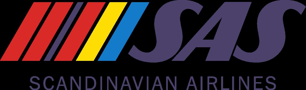 Sas Scandinavian Airlines 1980s Logo Scandinavian Airlines System Sas Airlines Vintage Airlines
