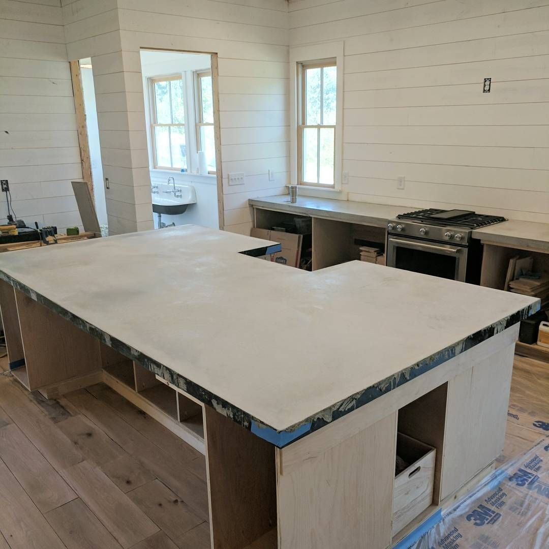 Z Counterform Concrete Counters Gable House Concrete Counter