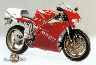 Top 10 Sexiest Motorcycles Of All Time Ducati 916 Ducati