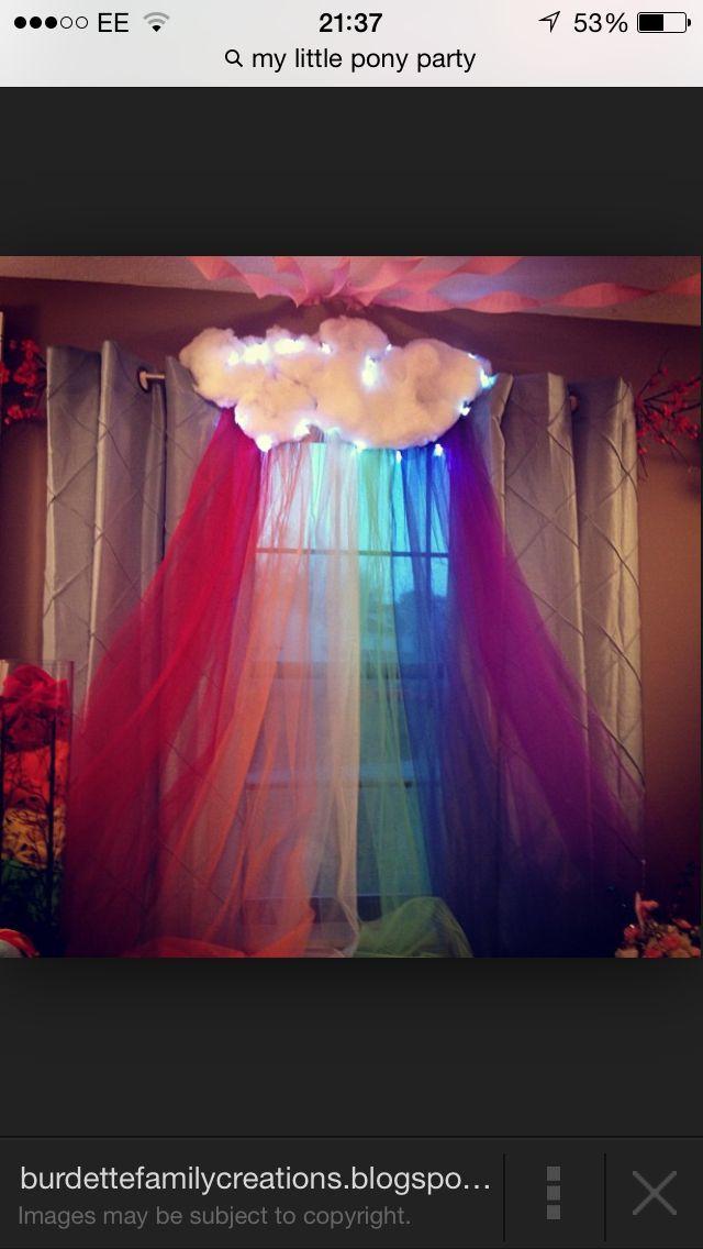 Rainbow Decoration For My Little Pony