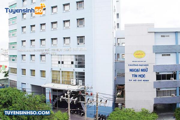 Đại học Ngoại ngữTin học TPHCM Công bố điểm chuẩn học bạ