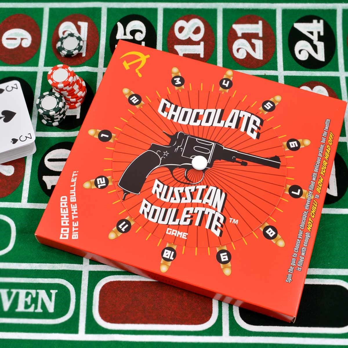 Chocolate Russian Roulette Game - Bite The Bullet Game | Russian ...