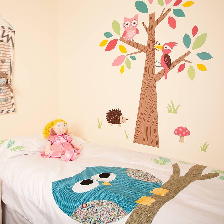 Owl Bedroom Owl Cot Bed Duvet Cover The Duvets