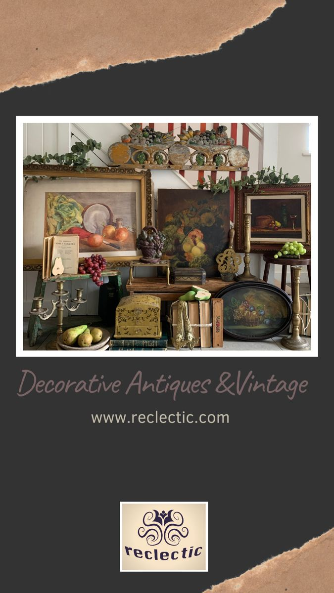 Faded Beauty. Timeless. Beautiful decorative antiques and vintage for your home. #antiquedecor #vintagehomedecor #modernrusticdecor