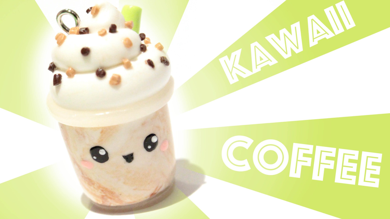 Kawaii Coffee Polymer Clay Tutorial