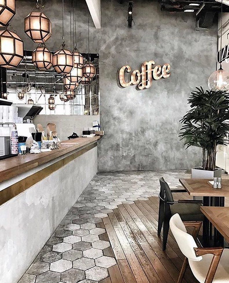The Most Inspiring Home Design Projects Following The Latest Trends Vintage Industrial Style Vintage In Coffee Shops Interior Cafe Design Coffee Shop Design