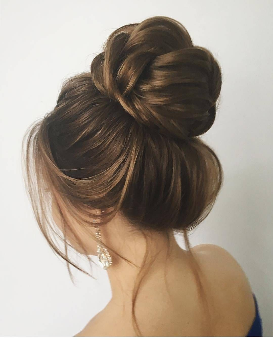 Hair buns have been a very popular hairstyle since ages hair buns