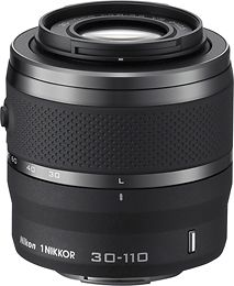 1 Nikkor 30 110mm F 3 8 5 6 Vr Telephoto Zoom Lens For Select Nikon 1 Cameras Black 3312 Best Buy Nikon Digital Camera Lens Nikon Lens
