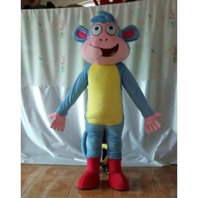 adult boots the monkey costume
