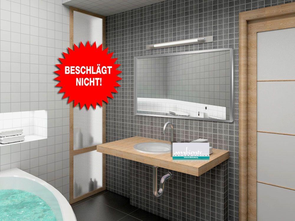 infrarot spiegelheizungen von infranomic wurden f r die verwendung im badezimmer entwic. Black Bedroom Furniture Sets. Home Design Ideas