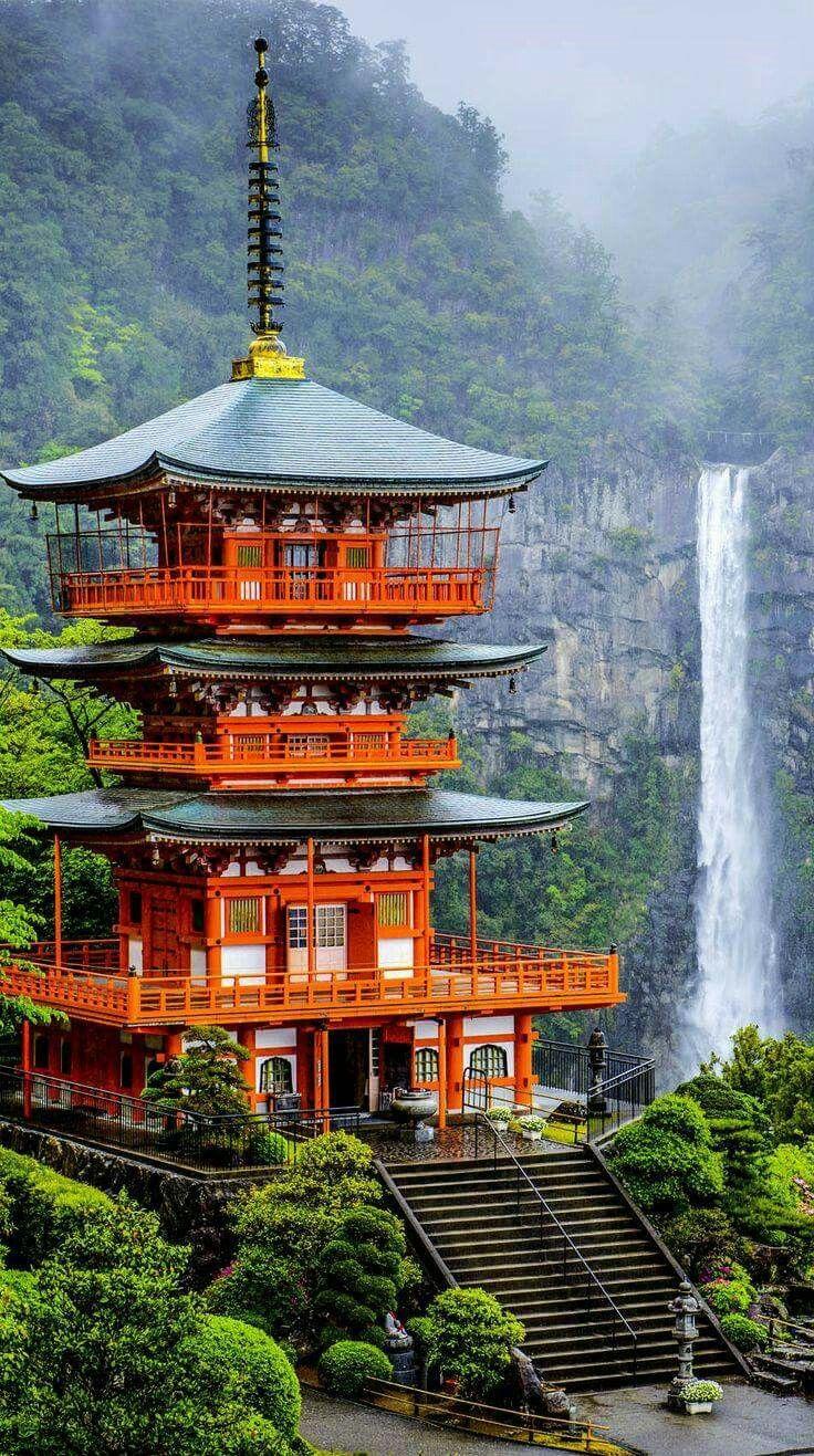 青岸渡寺 和歌山 世界遺産 那智山 那智滝 三重塔 Wakayama Japan