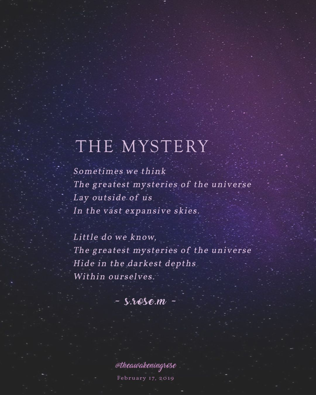 The Mystery Intuition Quotes Soul Quotes Seeing Quotes