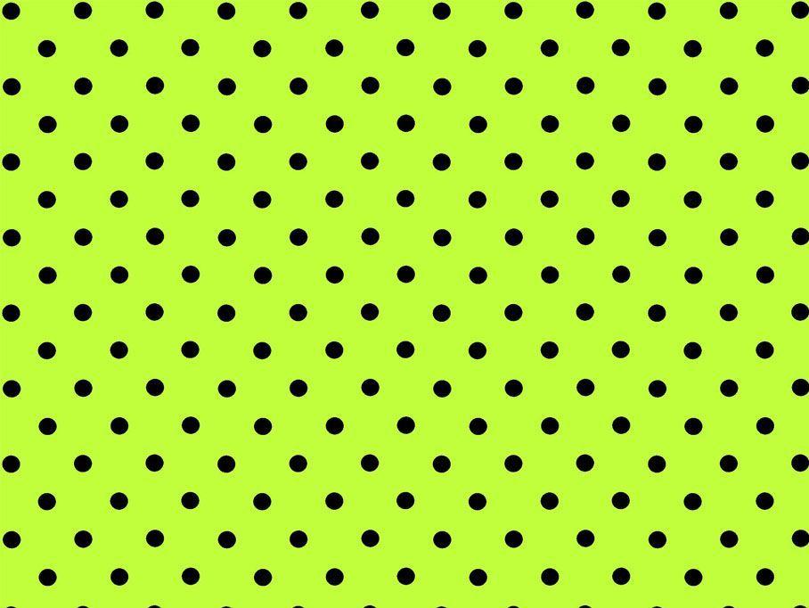 Tecido Po Verde Limo C Bolinha Preta