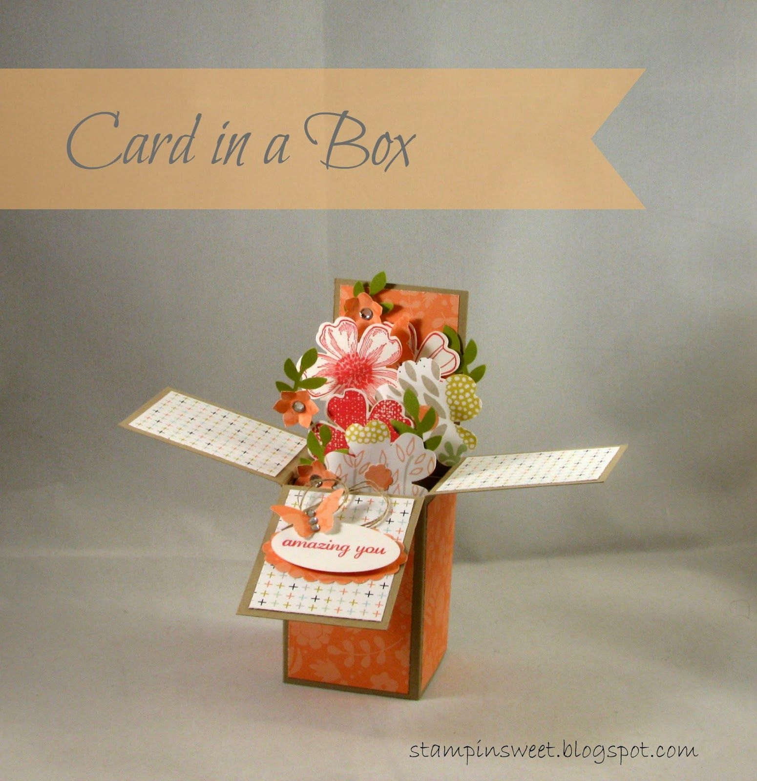 Card in a Box - Stampin Up