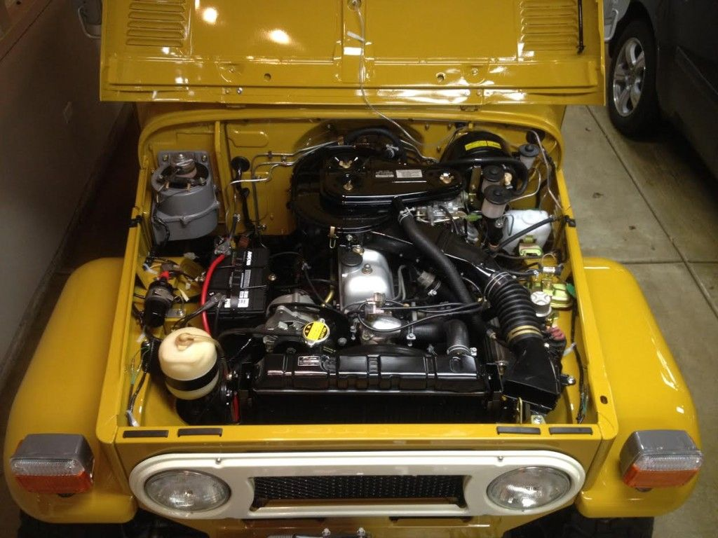1969 Toyota Fj40 Wiring Diagram Stewart Warner Amp Gauge Restored 1977 Land Cruiser 4x4 Off Roading