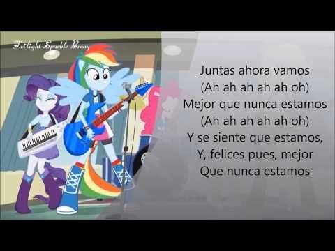 EG: RAINBOW ROCKS-MEJOR QUE NUNCA ESTAMOS-LETRA!!!