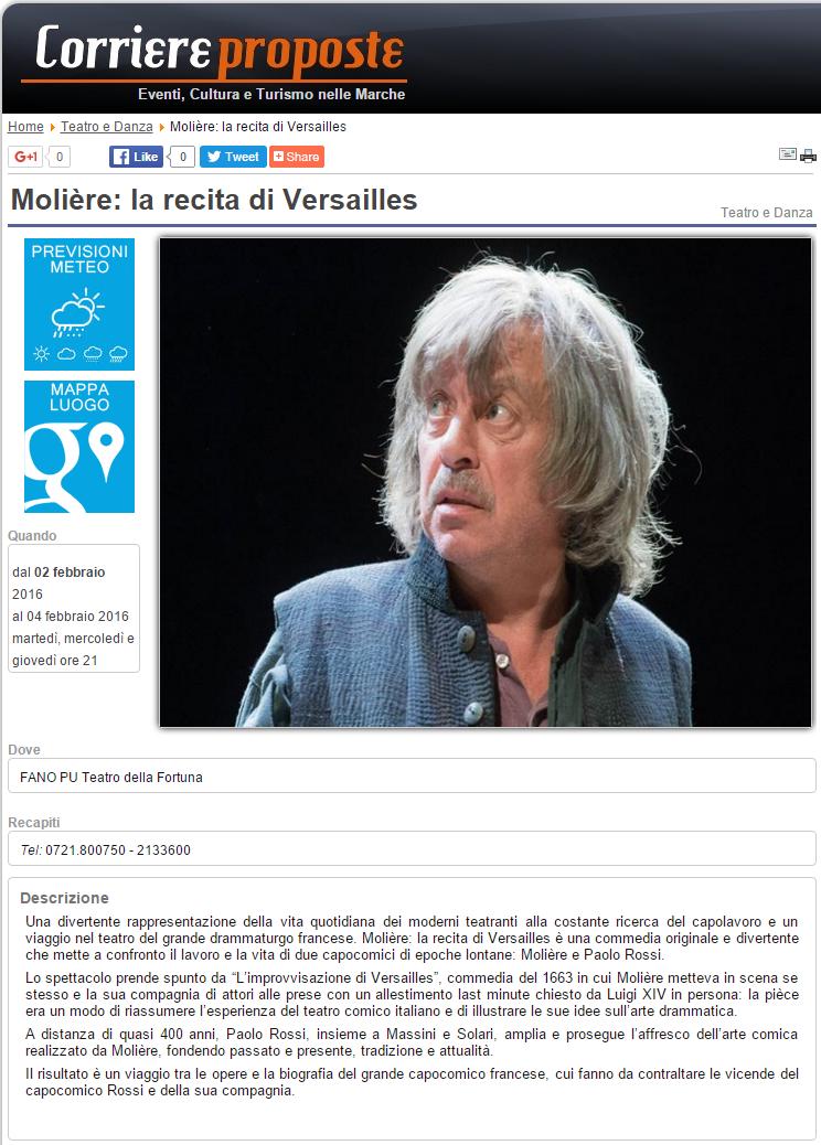 Corriere proposte - 28 gennaio