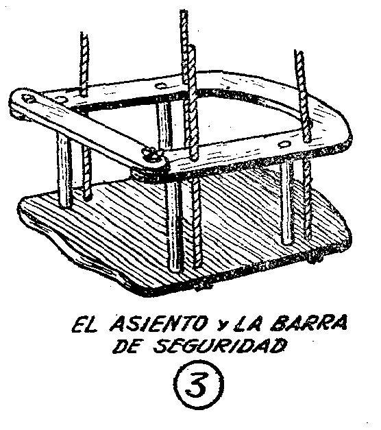 como hacer un columpio de madera casero para ni os