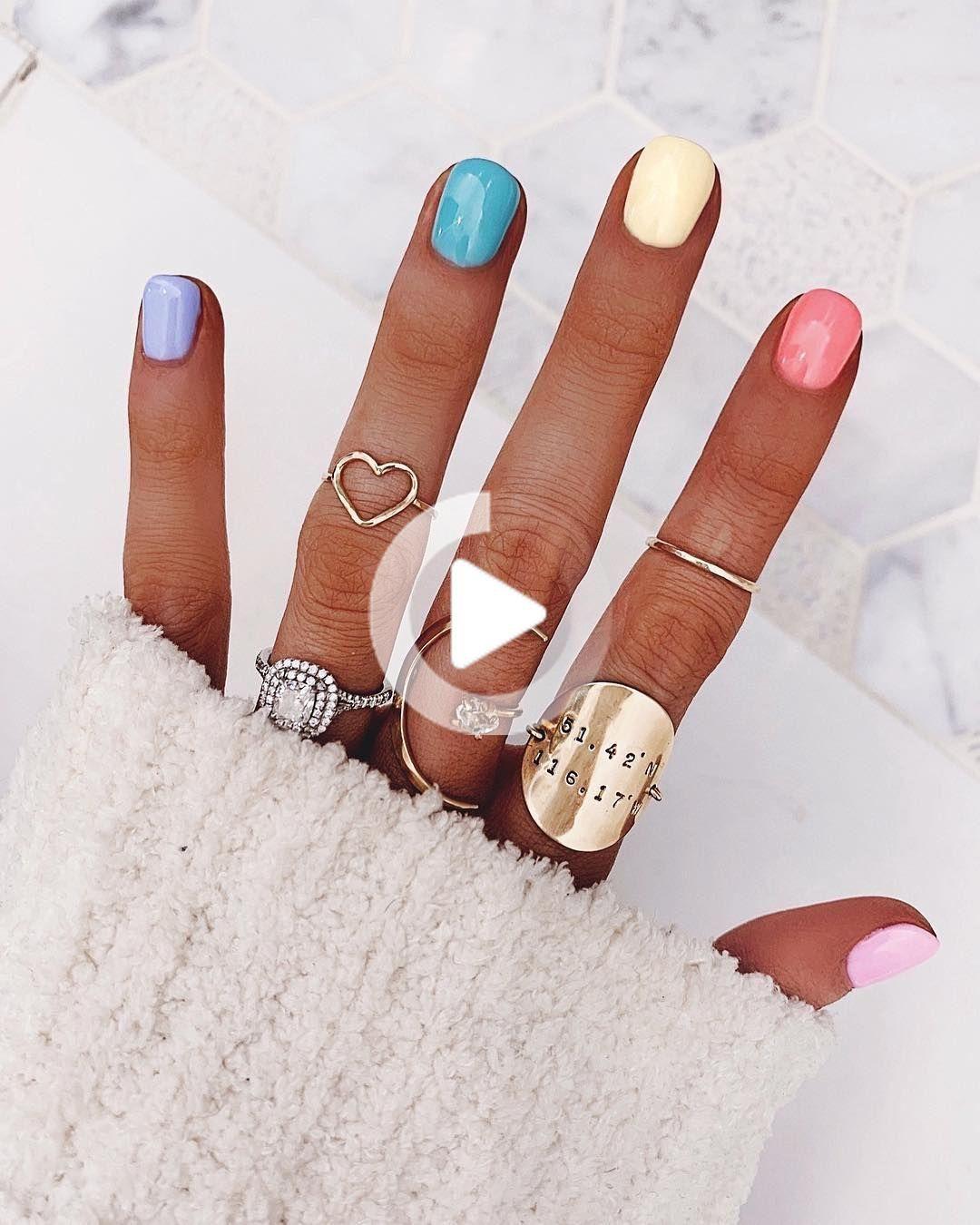Instagram Favorite Primavera Nail Trend Non Sta Andando Via In Qualunque Momento Presto In 2020 Summer Nails Colors Nail Trends Spring Acrylic Nails